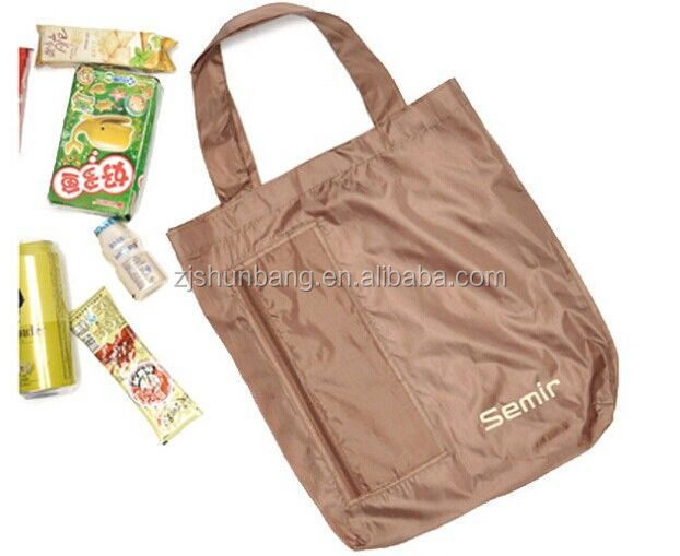 2015 cheap party bag/ polyester tote bag shopping/ hot sale waterproof 600d party bag folding