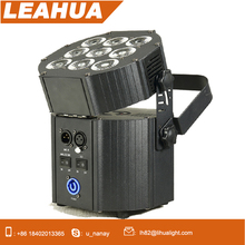 RGBW+UV 6in1 battery powered led par can uplight DMX wedding party led light with remote control stage light