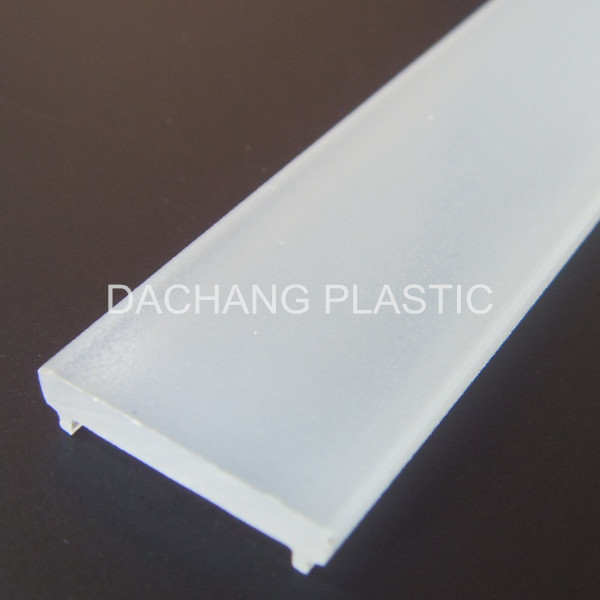 Thick pc cover for aluminum led profile