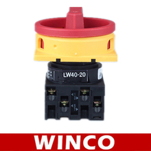 LW40-20 1-0-2 2P 3 Positions Rotary Cam Universal Changeover Switch