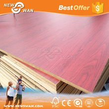 Two Sides Texture Wood Board / Melamine MDF Board