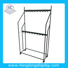 Metal car accessories display stand /metal wiper rack HL883C