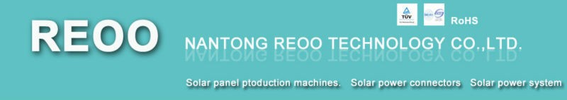 REOO High quality Full Automatic Solar module Laminator used for solar panel manufacturing