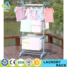 Popular Sliding Metal Round Tube Clothes Rack