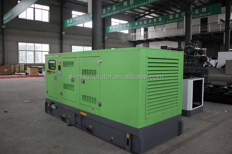 Low Noise 68db@7m Away Super silent generator 110 kva
