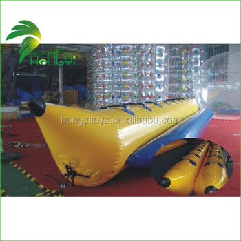 Gunagzhou Good Quality Durable PVC Inflatable Banana Boat