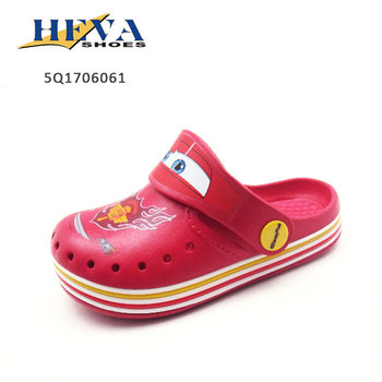 Toddler New design Backstrap Cartoon Printed Eva clog Shoes