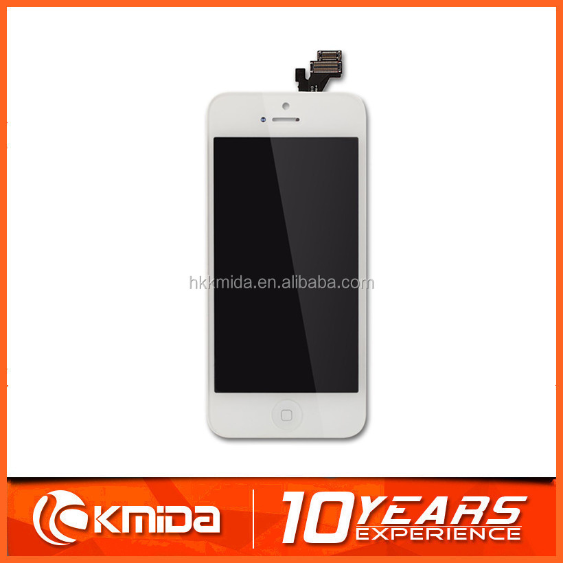 100% Brand New for iPhone 5 5G LCD Display touch screen with digitizer replacement assembly parts