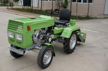 Made in china agriculture machinery 12HP 4 wheel Mini farm tractor for sale