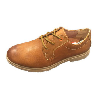 Men Brown Color Boat Shoes Action Leather Upper Shoes Fashion Lace Up Shoes