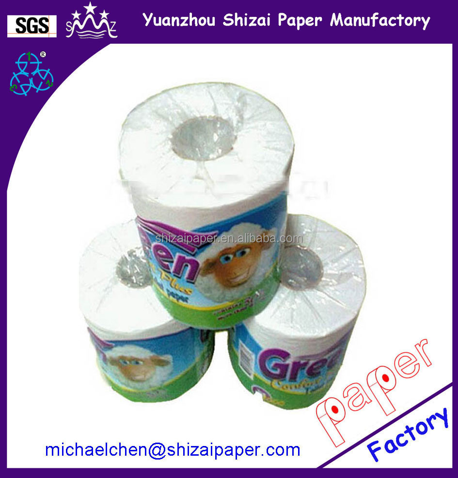 Dissolvable toilet paper of toilet tissue production line