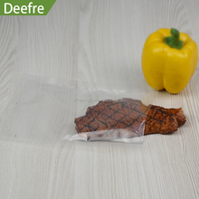 Transparent Nylon PE recyclable vacuum pack pouch bags