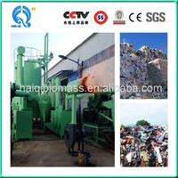 wood chips city argriculture waste biogas electric biomass small gasifier power plant