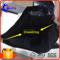 Custom promotional eco-friendly cheap drawstring plastic garbage bag