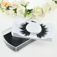 Hot sell factory price handmade customized packaging horse hair eye lashes