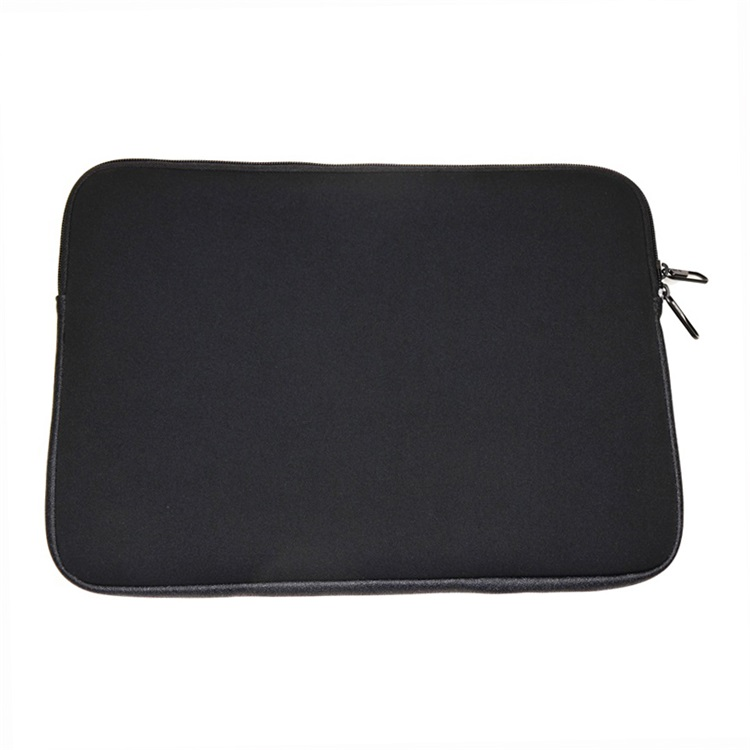 Universal Customized Black Neoprene And PU Laptop Computer Bag Tablet Sleeve