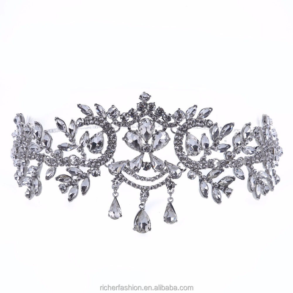 Bridal Rhinestone wholesale pageant crowns and tiaras