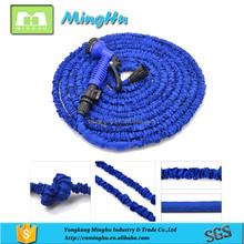 High quality colth cover and ABS fitting expanding garden water hose pipe