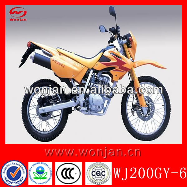 Chinese motorcycle best price used 200cc motorcycles (WJ200GY-6)