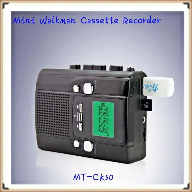 Portable Mini Walkman Cassette Recorder with USB SD