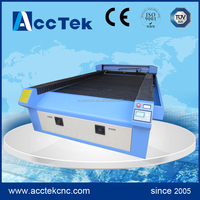 CO2 Laser Leather Fabric Cloth Cutting Machine /1325 CO2 Laser Cutting / Large Format Laser Cutter AKJ1325