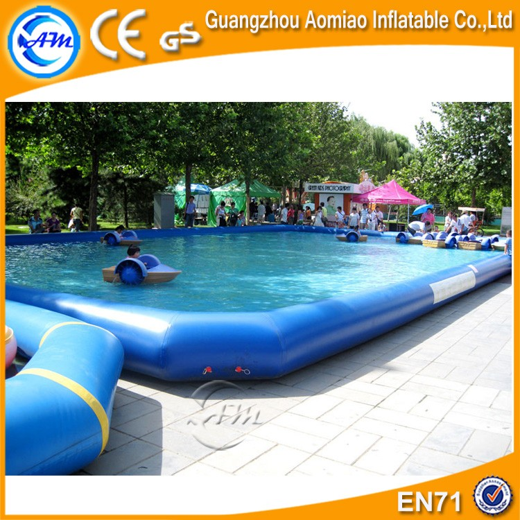 Commercial giant water pool bubble ball pit pool for Huge inflatable swimming pool