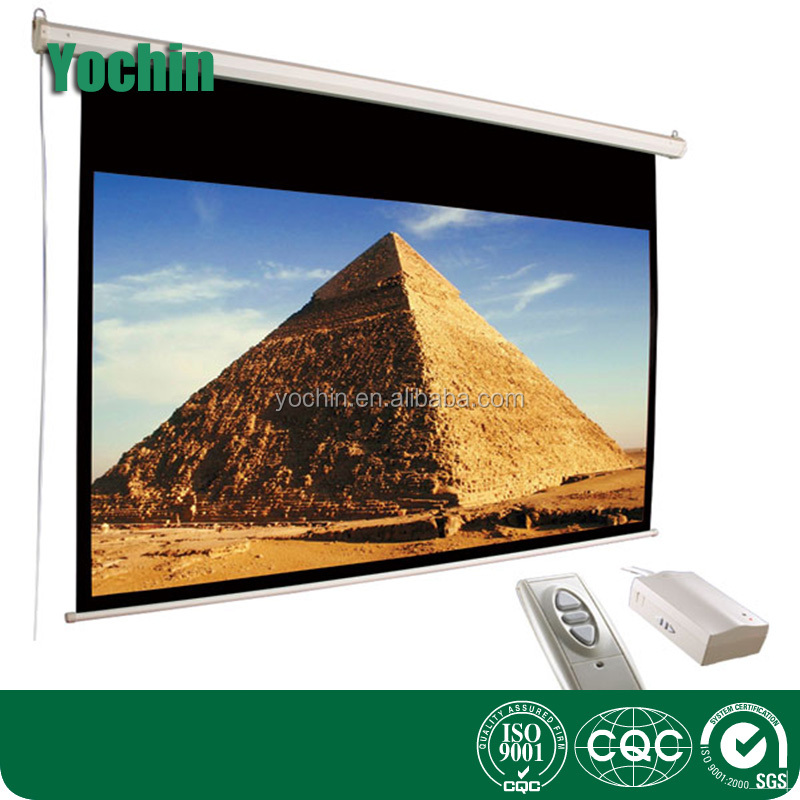 projector screen 200inch motorized projection curtain
