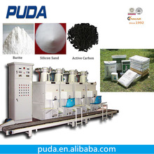 Air forced 25kg 50kg bags automatic powder packing machine