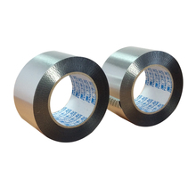 Heat Resistant Adhesive Tape Waterproof Duct Sealing Reinforced Aluminum Foil Tape