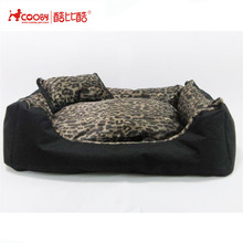 Factory supply deluxe cute cozy large breed dog beds