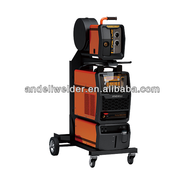 Advanced digital control Inverter welder double Pulse MIG MAG Welding Machine (DSP) Pulse MIG-350/500