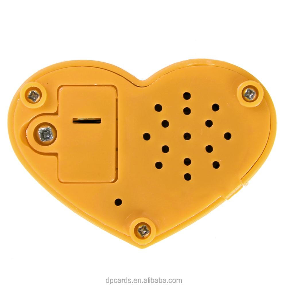 High quality recordable micro sound chip, recordable music box,recordable voice modules for animal toys