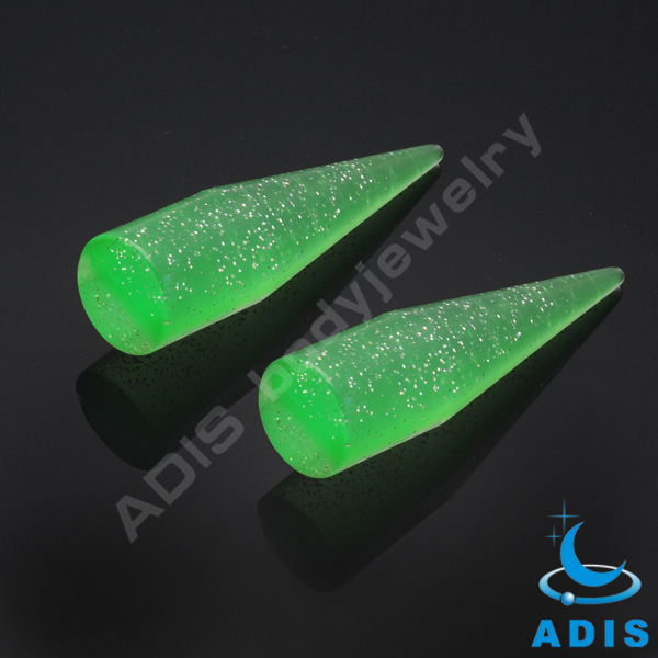 Fashion acrylic large size ear tapers expander jewelry wholesale