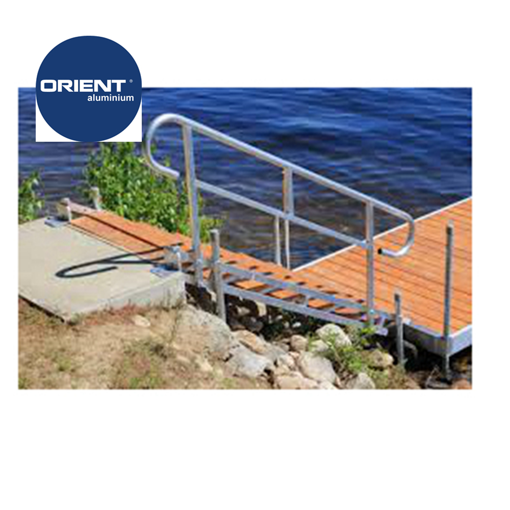High quality Marine Grade Aluminium float dock inflatable dock