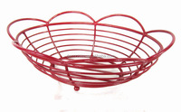 Cheap Metal Wire Avalon Oval Heated Bread Basket