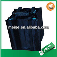 Hot Selling non woven ,polyester tote bag/divided wine tote bag