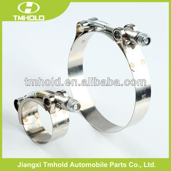 Stainless Steel T-Bolt Clamp Turbo Intercooler Silicone Hose Coupler
