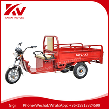 Cheap price three wheel lead acid battery 60V20Ah electric cargo tricycle for China adults