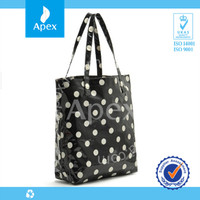 2014 fashion waterproof pvc custom printed tote bags