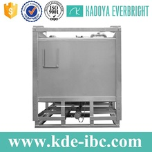 Customize stainless steel chemical 1000-liter container