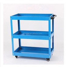 Yiwu wholesale tool car multifunction three layers cart parts car shift trolley wheel