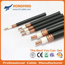 1/2' RF feeder leaky corrugated coaxial cable
