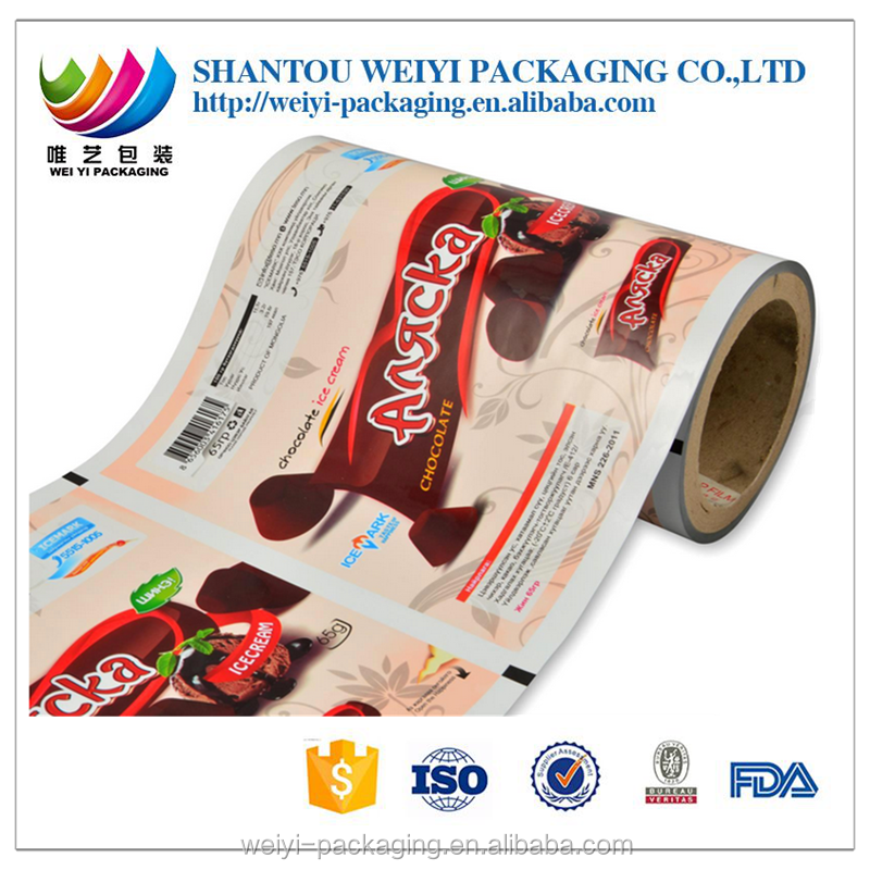 hot sale high barrier hdpe roll film for food packaging