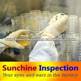 Quality control services: lab testing / inspection services / Factory Audits