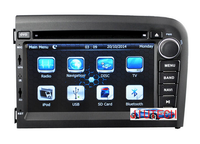 Car Multimedia for Volvo S80 GPS Navigation Sat Stereo Auto Radio Headunit car DVD Player
