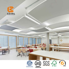 Ceiling Tiles Type Fiberglass Acoustic Ceiling Tiles Sound Absorbers Glasswool Board