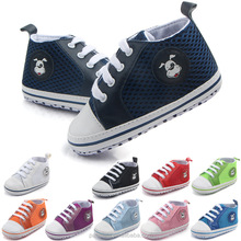 Infant Toddler mesh breathable Sneakers Baby Boys Girls Soft Sole Crib Cotton Canvas Shoes