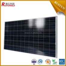 China YangZhou RY 150w mono solar panel with cheap price