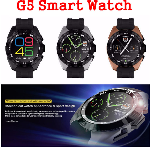 Bt Smart Watch G5 MTK2502 support Voice Control Heart Rate monitor Fitness Tracker wristwatch for ios android