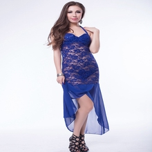High end ladies fashion sexy halter neck lace long evening dress turkey